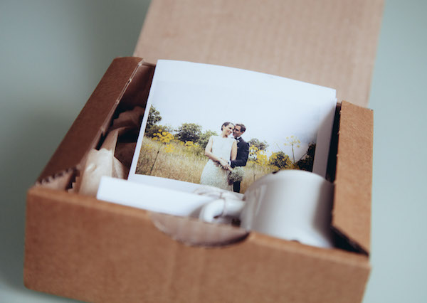 album fotos boda packaging con olor